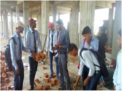 Site Visit for Diploma Civil students